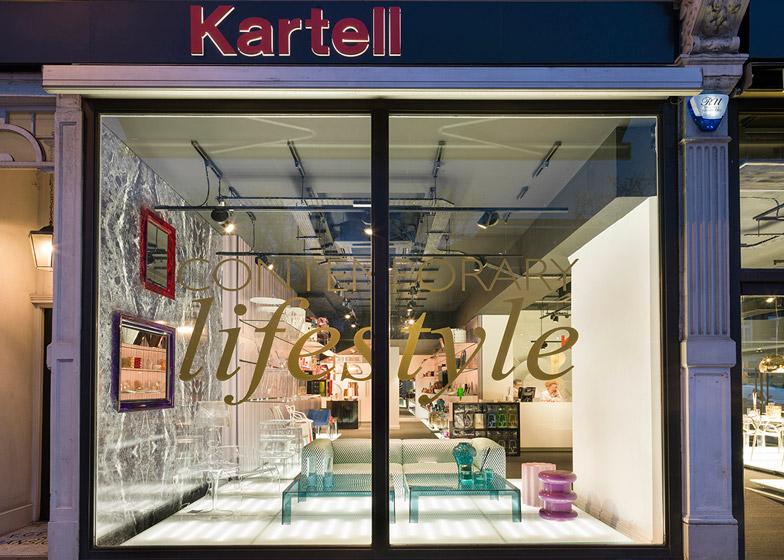 Kartell London Flagship Store
