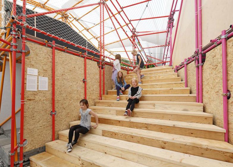 Brilliant Selgascano Pavilion To Become School In Kenyas Kibera Slum Download Free Architecture Designs Boapuretrmadebymaigaardcom