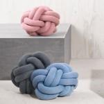 Design House Stockholm puts Ragnheiður Ösp Sigurðardóttir's Knot cushion into production