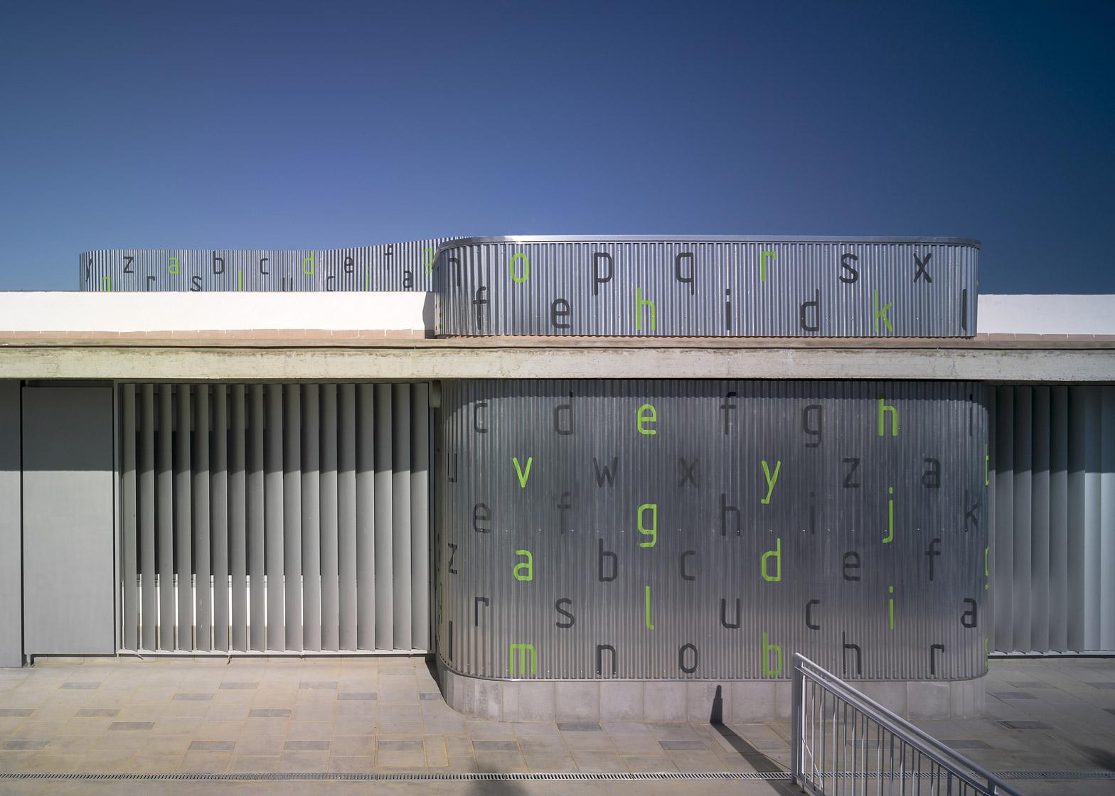 La Barrosa kindergarten by Gabriel Verd