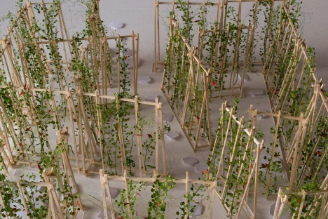 Installation for the International Garden Festival in Quebec