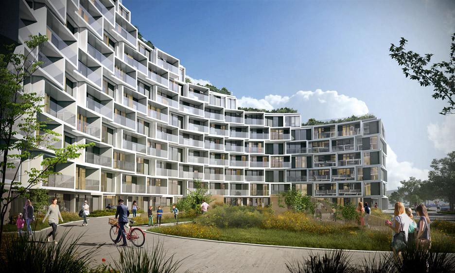 La Tour Residential Tower by 3XN