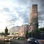 3XN wins approval for Aarhus tower rivalling the height of the city's cathedral