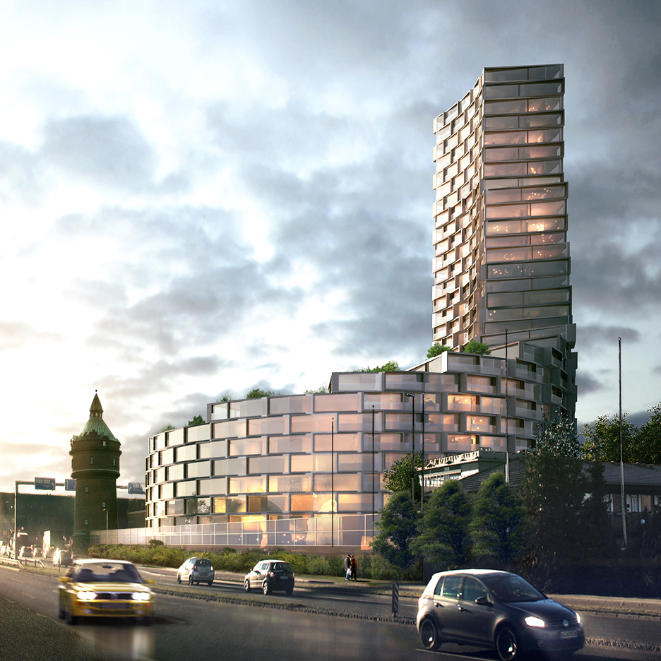 La Tour Residential Tower by 3XN