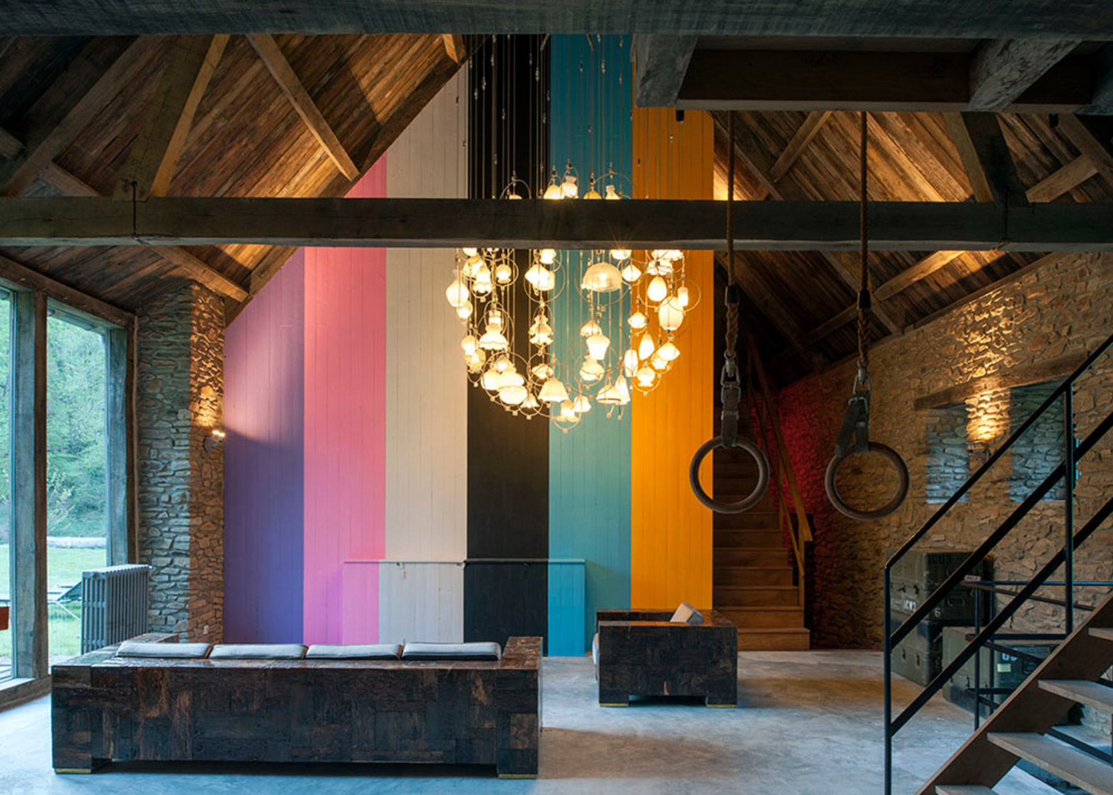 Le Moulin and Le Four by Piet Hein Eek