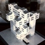 Arndt Schlaudraff recreates Brutalist buildings in Lego for Instagram