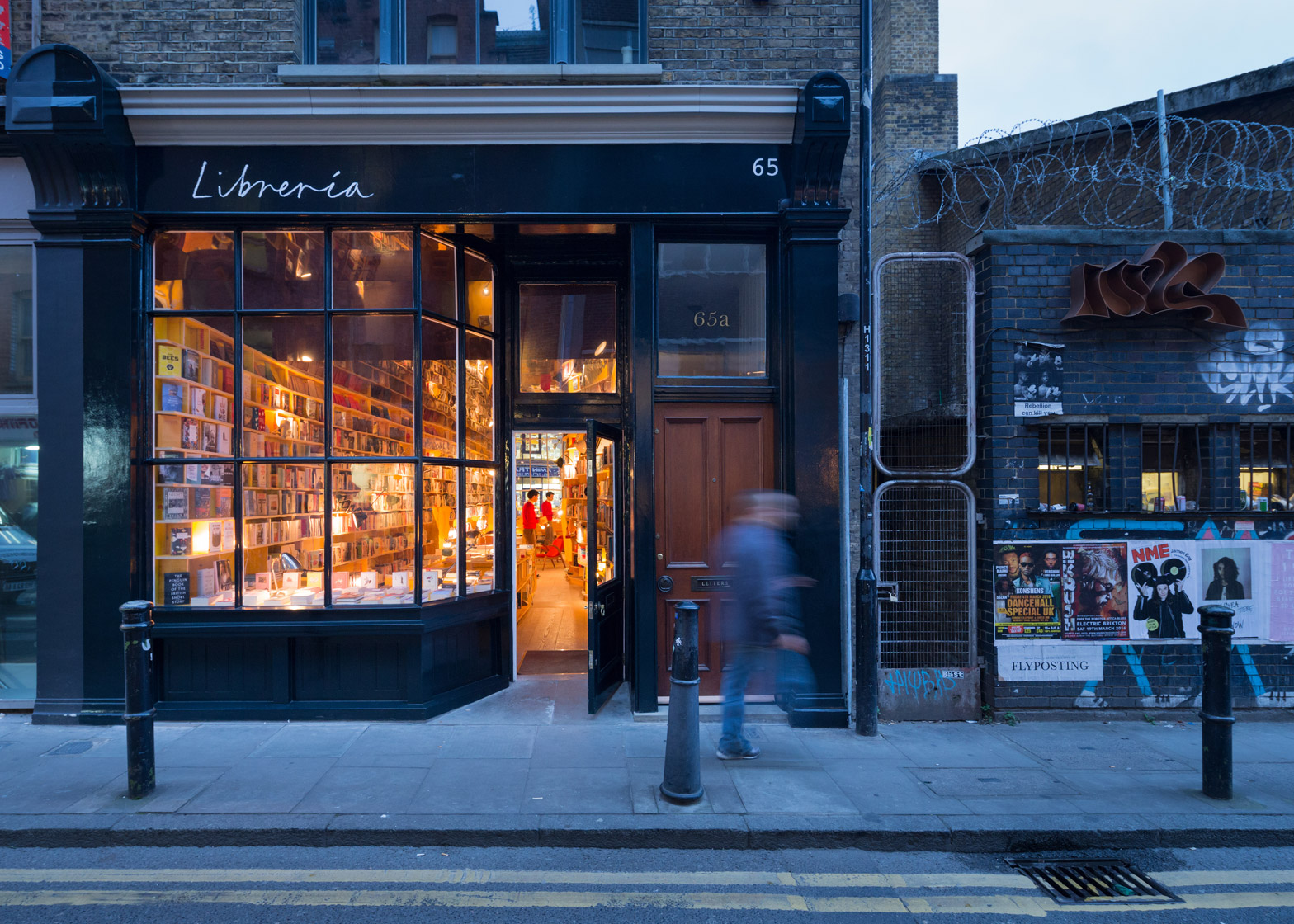 Selgascano creates concept bookstore in east london