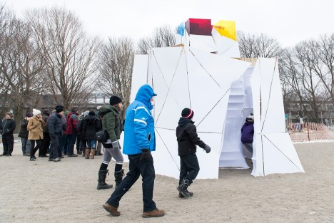 Winter Stations on Canada's Lake Ontario