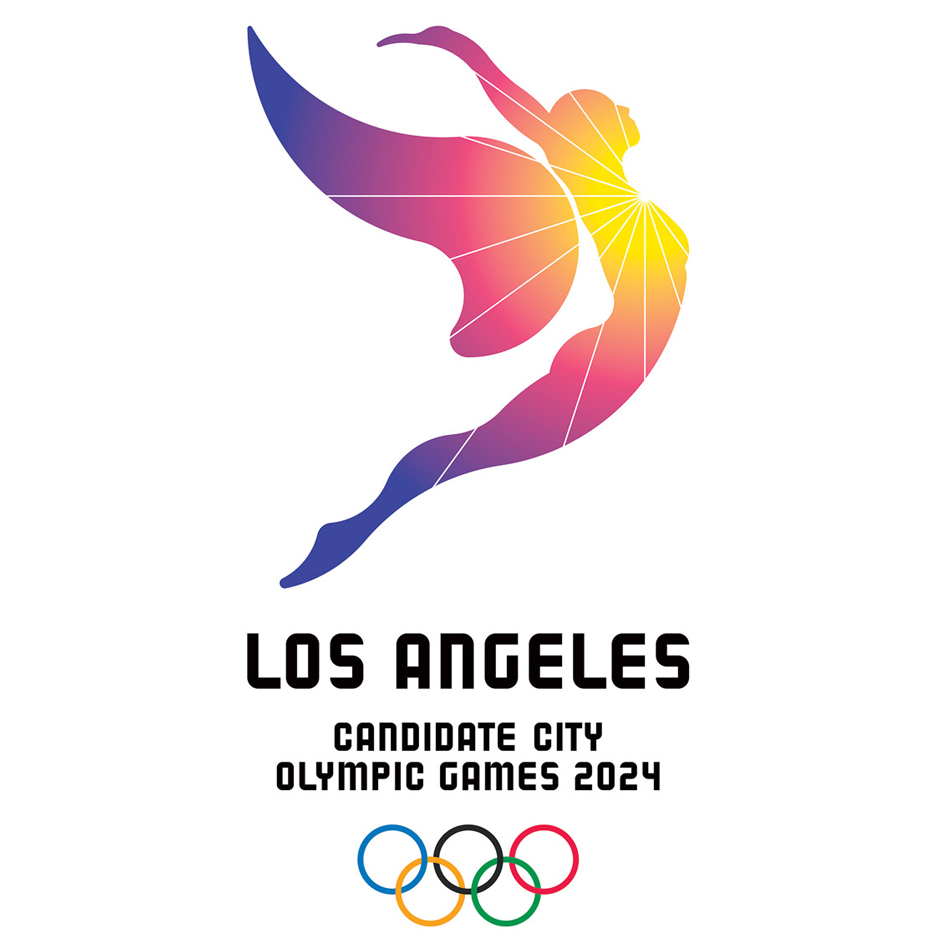 Los Angeles 2024 Olympic bid logo