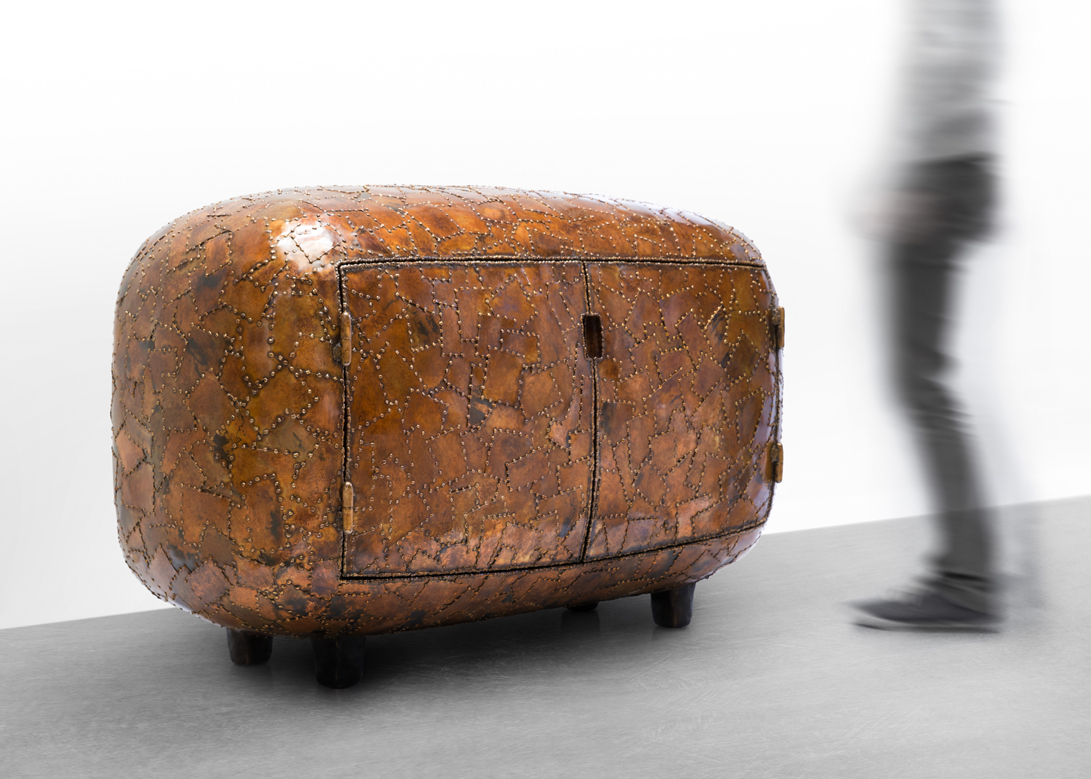 Maarten Baas exhibits Carapace collection at Carpenters Workshop Gallery