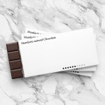 Yuta Takahashi designs minimal packaging for natural chocolate bars