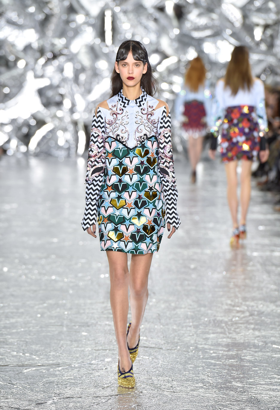 Mary Katrantzou AW16 set design