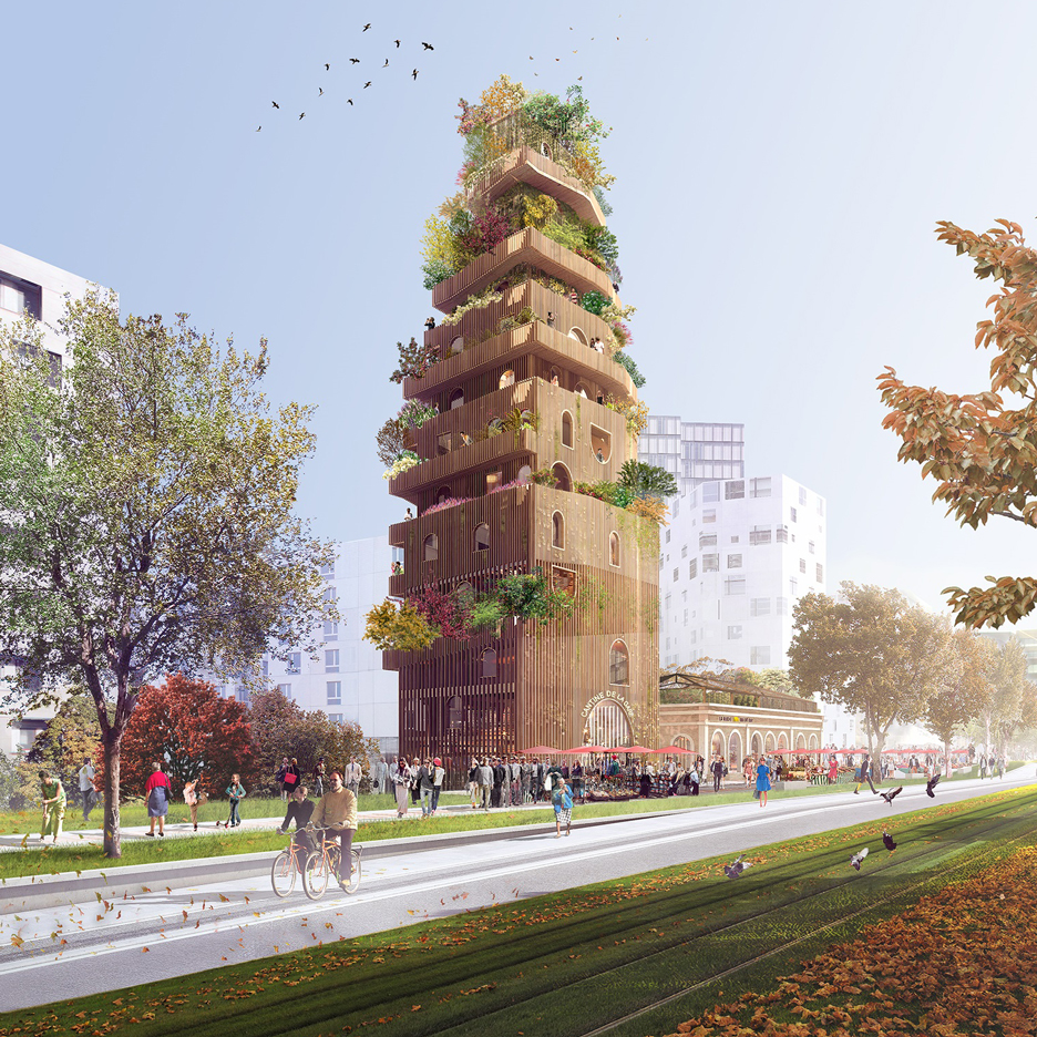 "David Chipperfield and Sou Fujimoto unveil visions for ""Paris of tomorrow"""