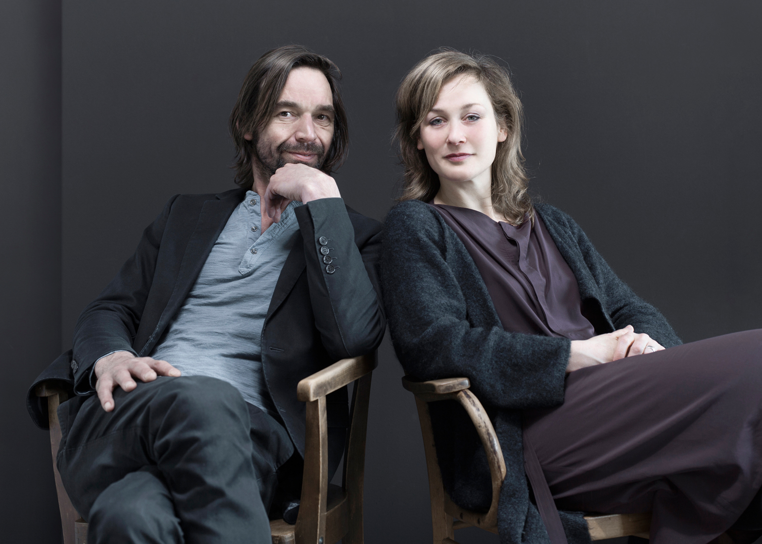 Portrait of Miriam van der Lubbe and Niels van Eijk by Lisa Klappe