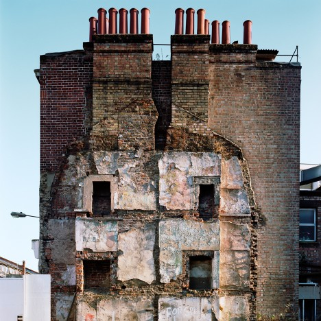Missing Buildings: Thom and Beth Atkinson document the scars left on London by the Blitz