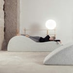 Nap Bar in Dubai invites visitors to sleep on soft pebble-shaped seats