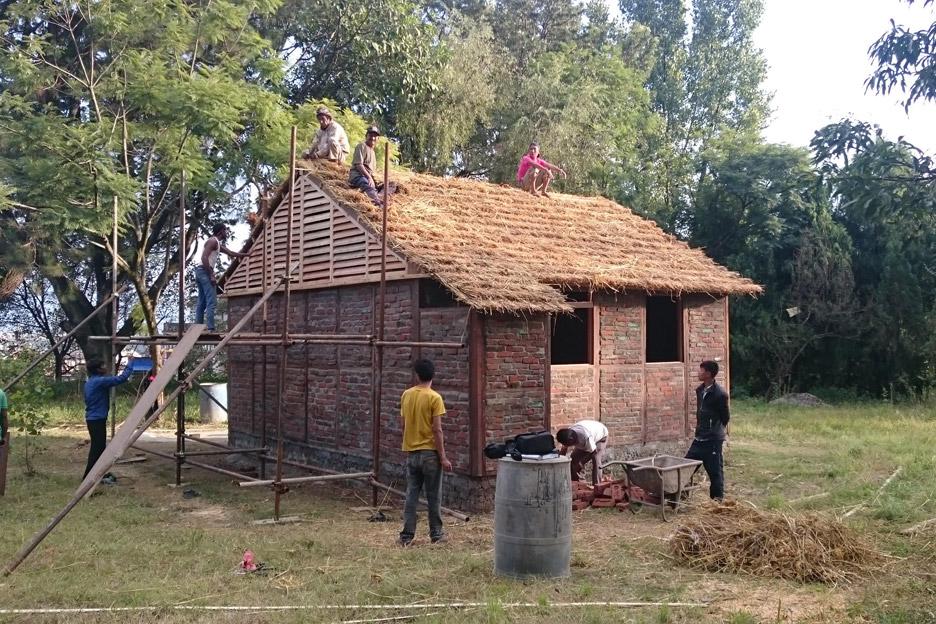 Housing for 2015 Nepal earthquake victims by Shigeru Ban