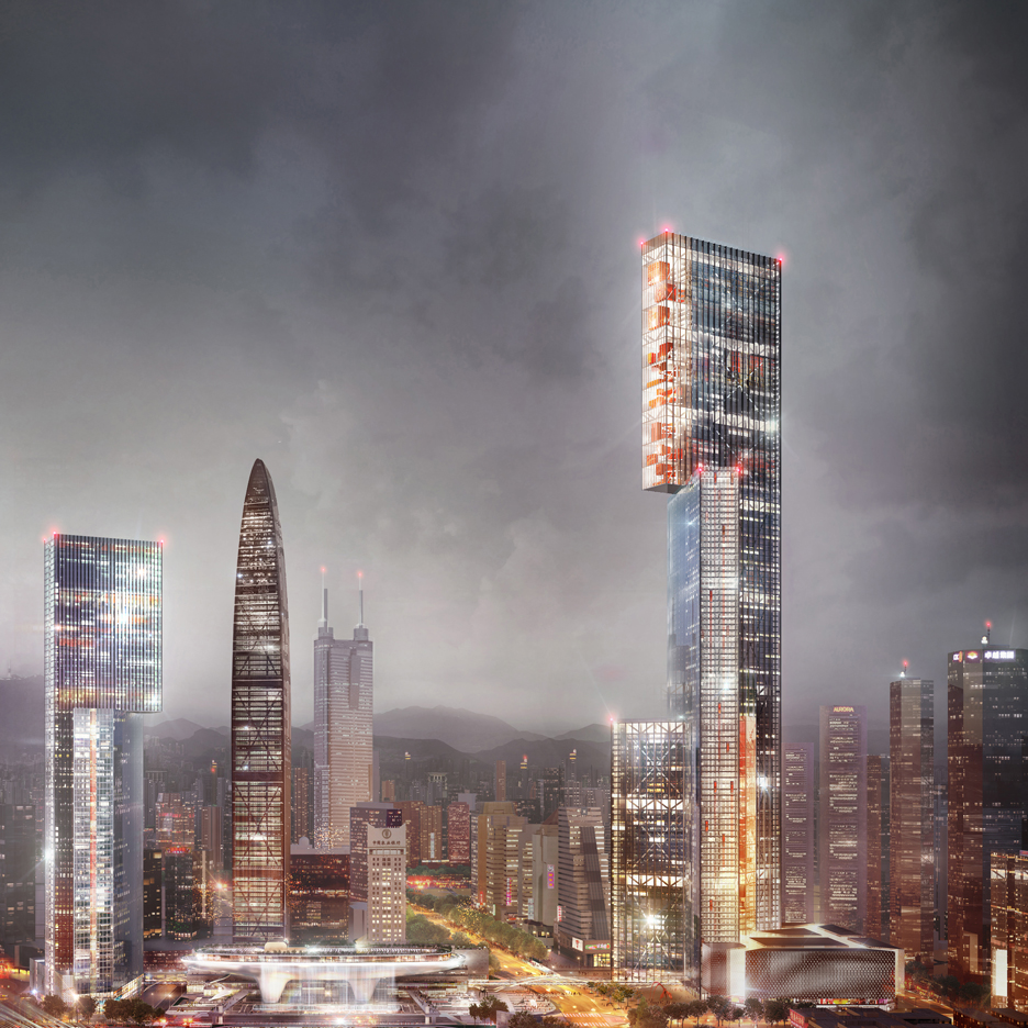 PLP's Nexus tower aims to offer alternative to standard skyscraper design