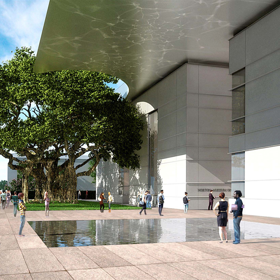 Norton Museum Expansion by Foster and Partners