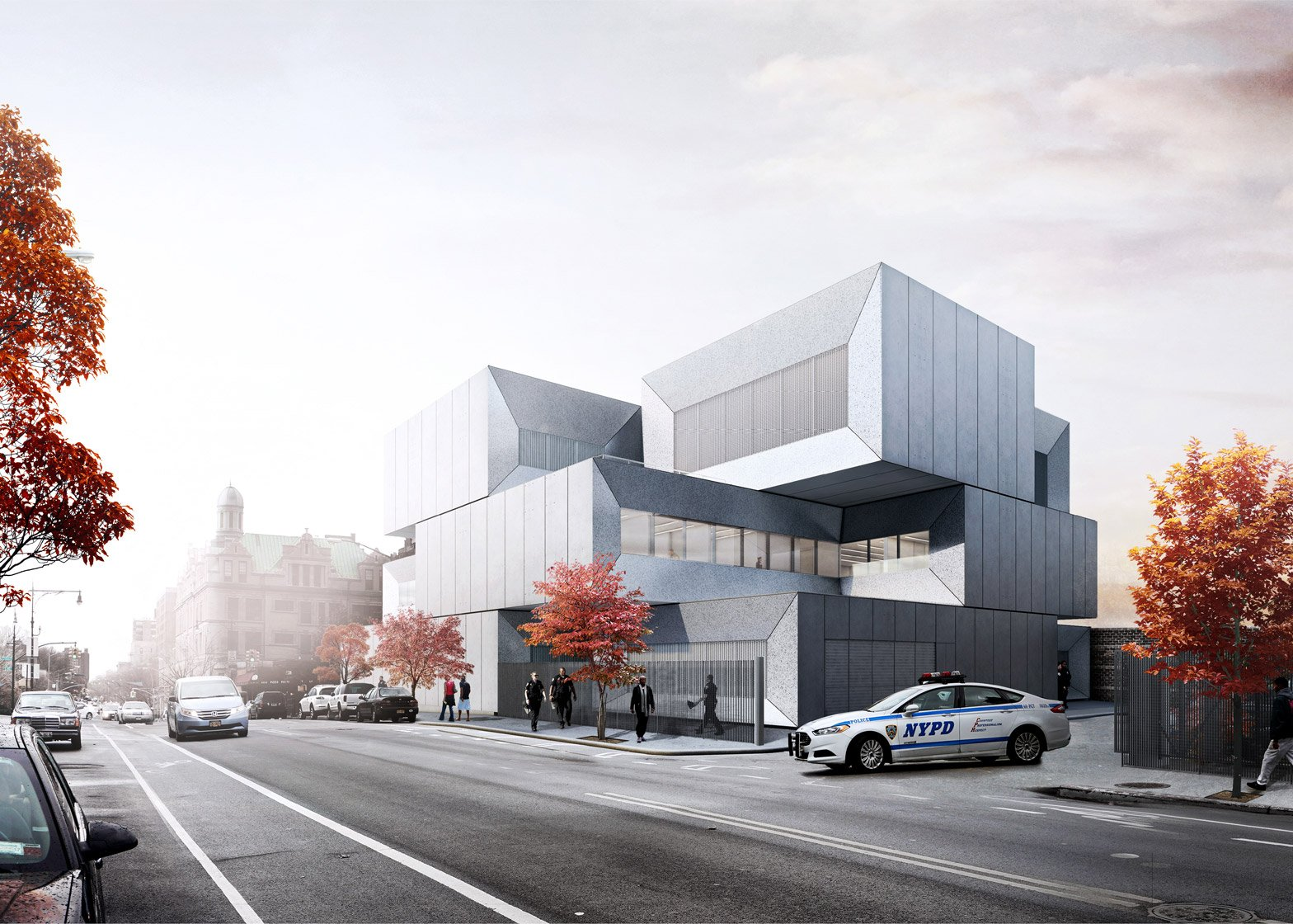NYPD 40th precinct by BIG