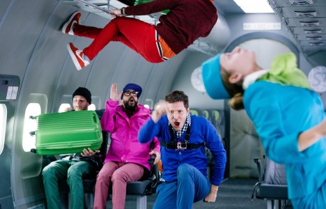 OK Go's Upside Down & Inside Out music video
