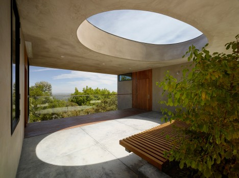 Overlook Guest House by Schwartz and Architecture
