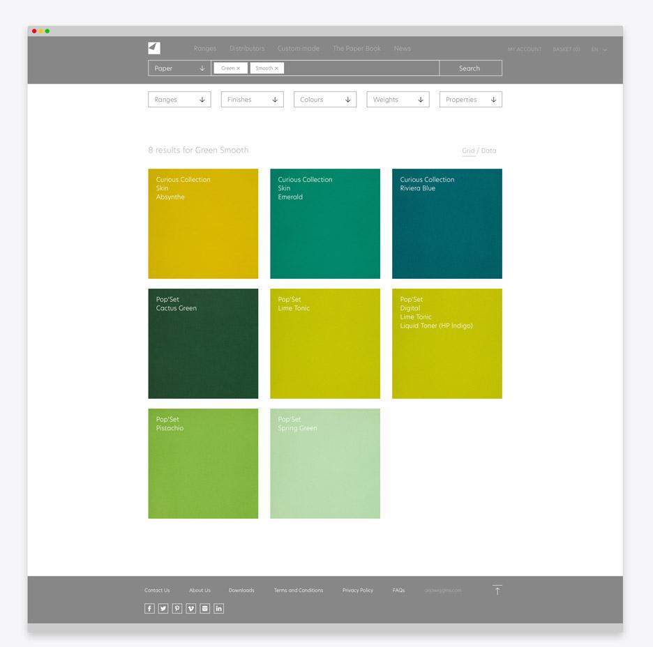 Arjowiggins creative papers website