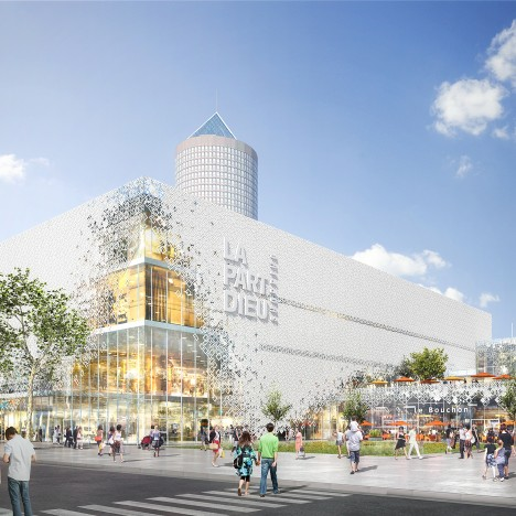 MVRDV to transform La Part Dieu shopping centre in Lyon