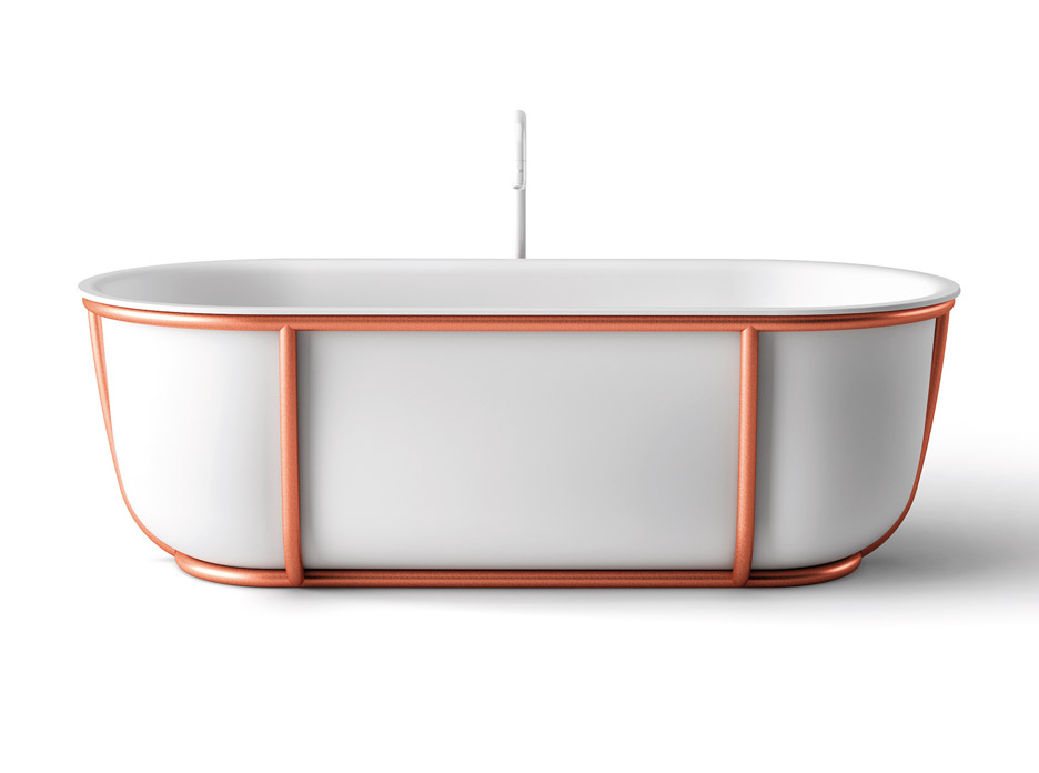Patricia Urquiola's Cuna and Larian bathtubs for Agape