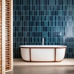 Steel tubes support Patricia Urquiola's Cuna bath for Agape