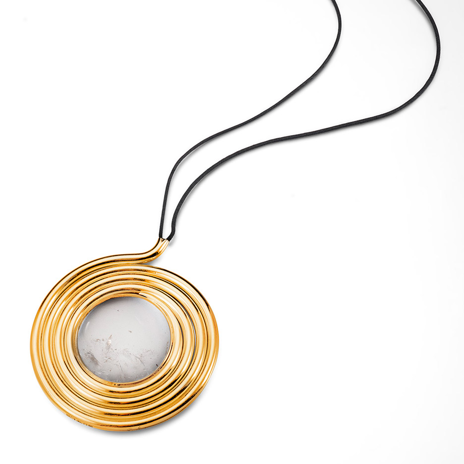 Perfectly Coiled pendant from the Naja collection
