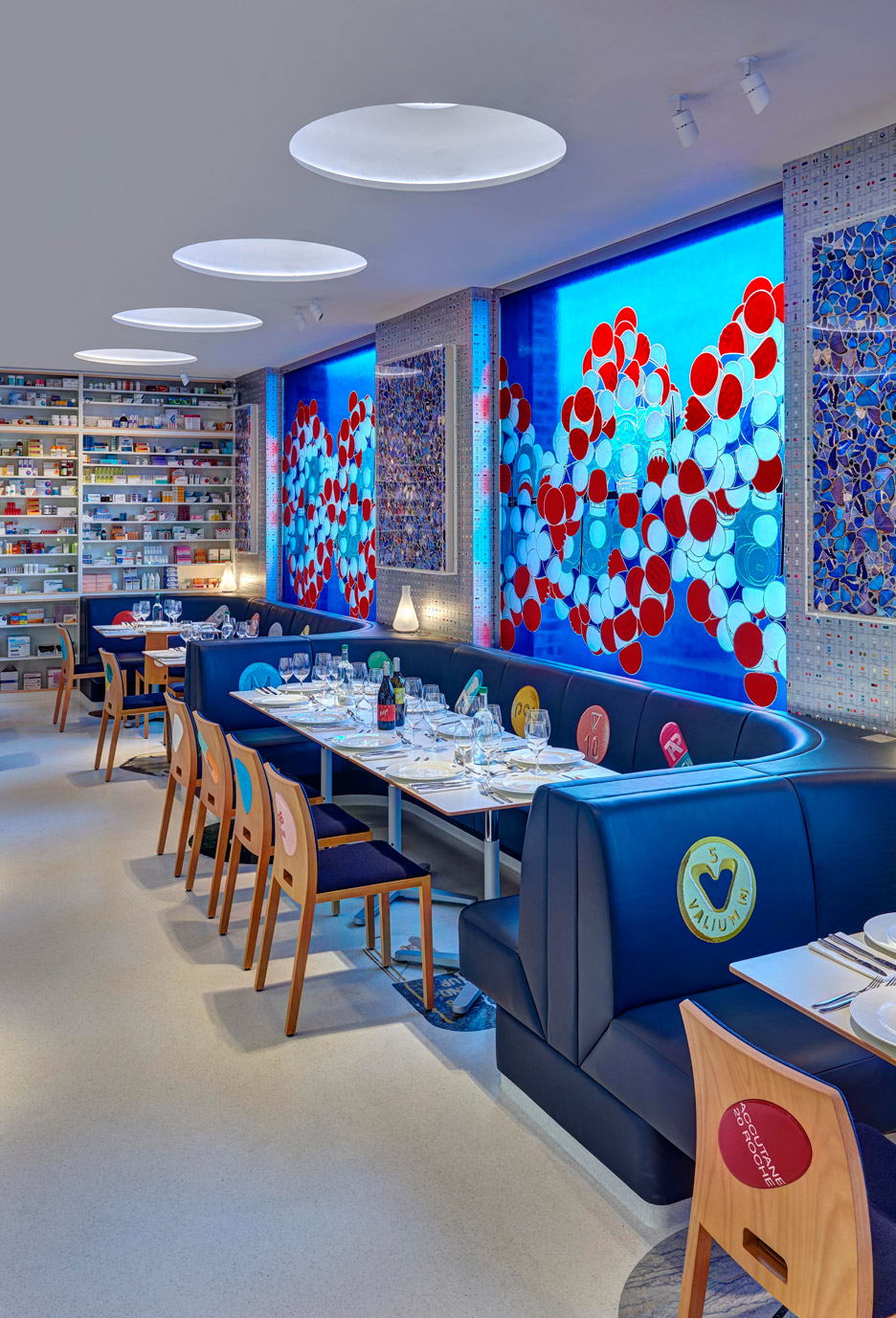 Damien Hirst designs his second Pharmacy restaurant for Newport Street Gallery