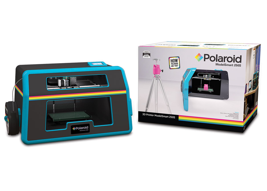 Polaroid launches Modelsmart 250S 3D printer