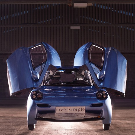 Riversimple unveils hydrogen-powered electric vehicle Rasa