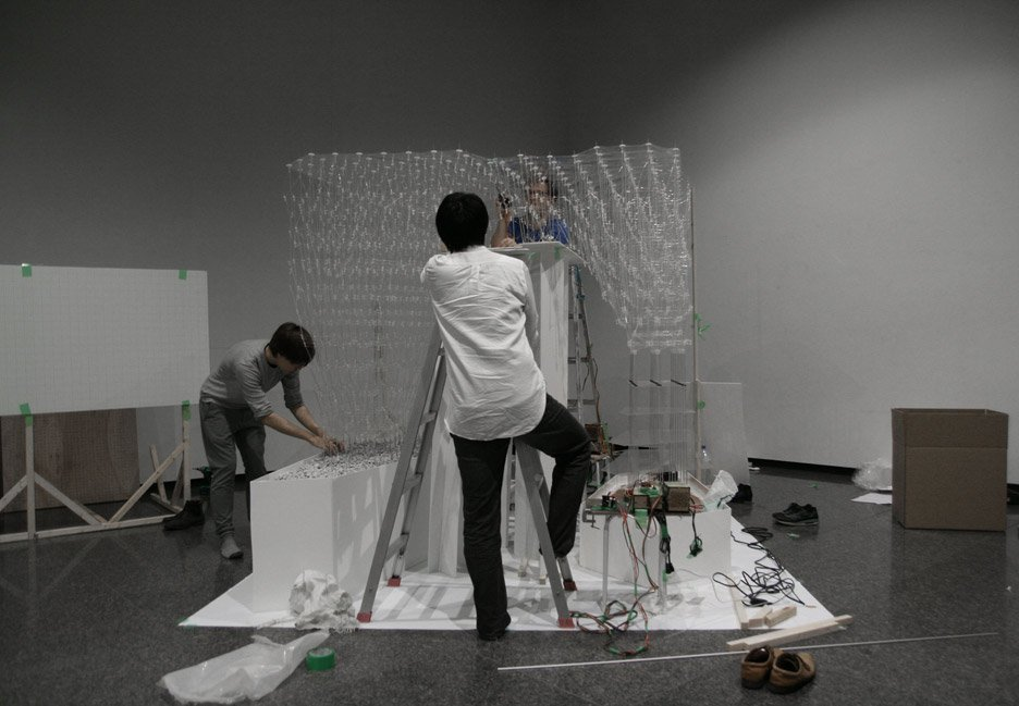 tokyo students develop architectural 3d printing pen