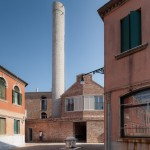 Studio Macola converts abandoned factory into homes in Venice