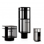 Folkform's Revolving Bookcases designed to make physical books look desirable