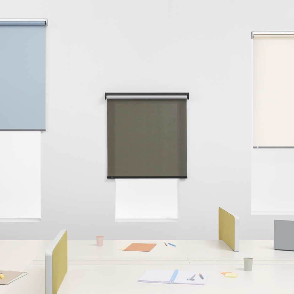 "Bouroullec brothers create the ""Swiss watch"" of roller blinds for Kvadrat"