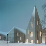 Reiulf Ramstad Arkitekter creates spiky roofline for Romsdal Folk Museum in Norway
