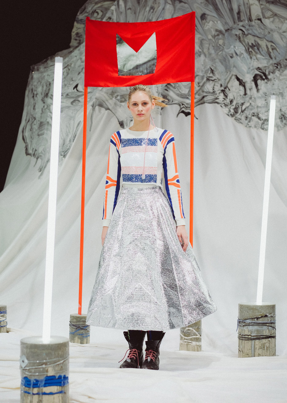 916af65cba2 Sadie Williams gives retro ski wear a futuristic twist