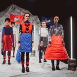 Sadie Williams gives retro ski wear a futuristic twist for Off Piste Autumn Winter 2016 collection
