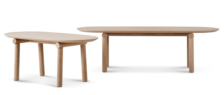 Savannah coffee table by Monica Förster for Erik Jørgensen