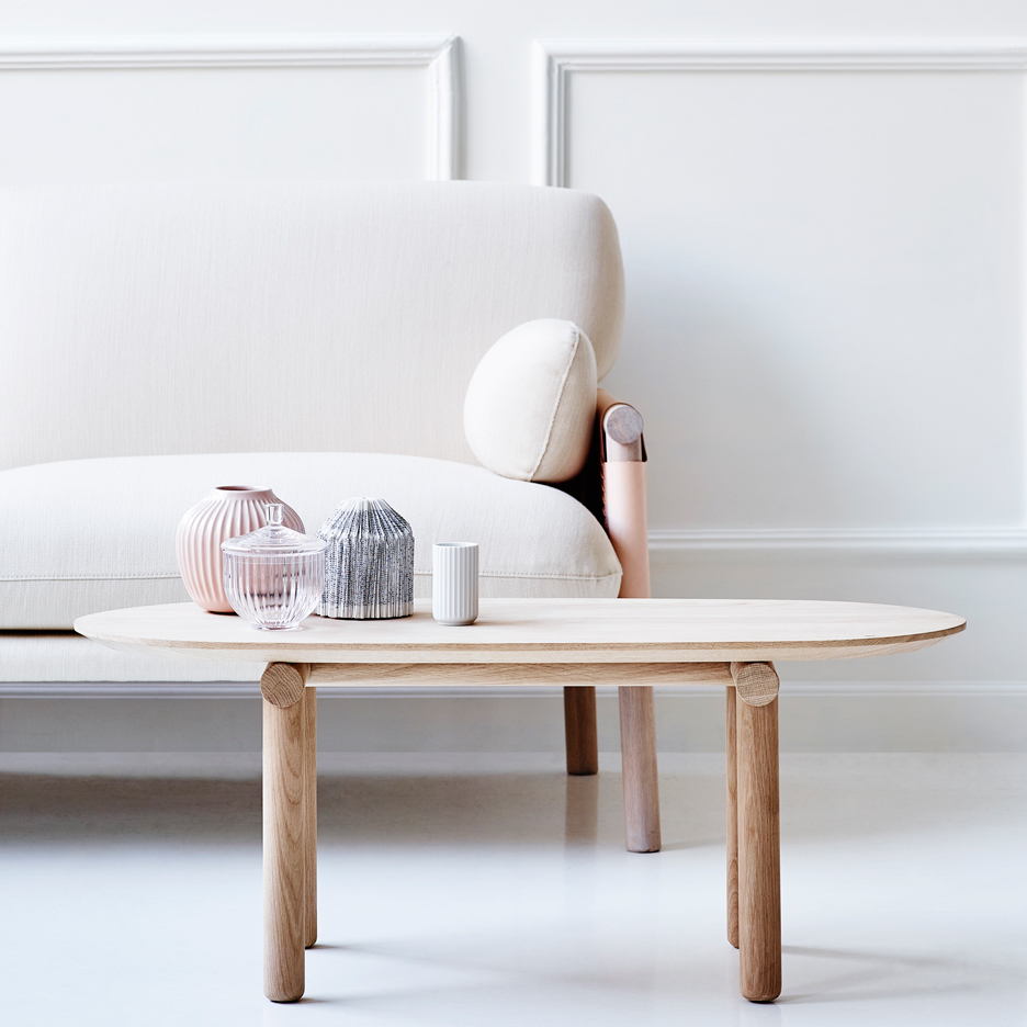Monica Förster designs Savannah coffee table for Erik Jørgensen
