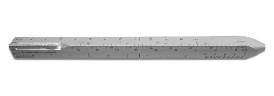 Shigeru Ban creates Scale pen for architectural drawing