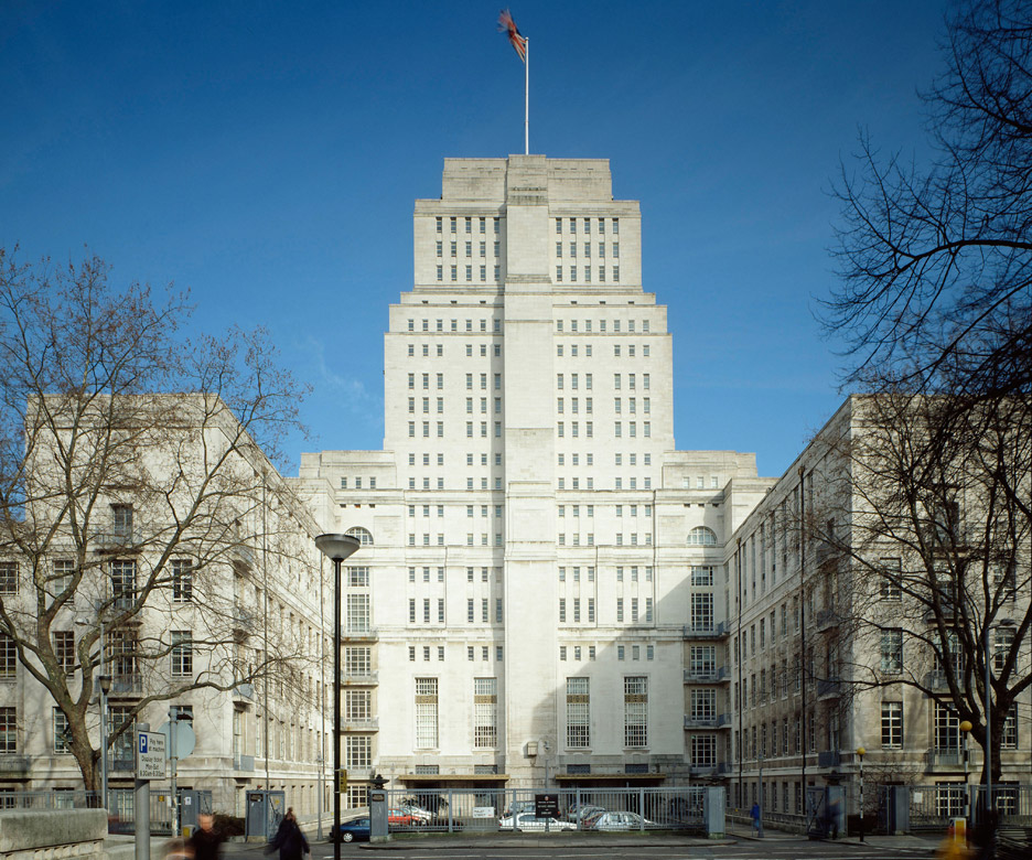 Senate House, University of London, London, 1931-37, by Charles Holden