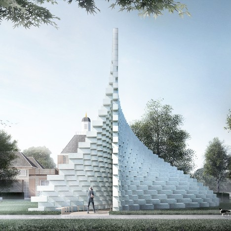 Serpentine Galley Pavilion 2016 by Bjarke Ingels