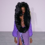 Grace Jones acts as muse for Sibling's Autumn Winter 2016 womenswear collection