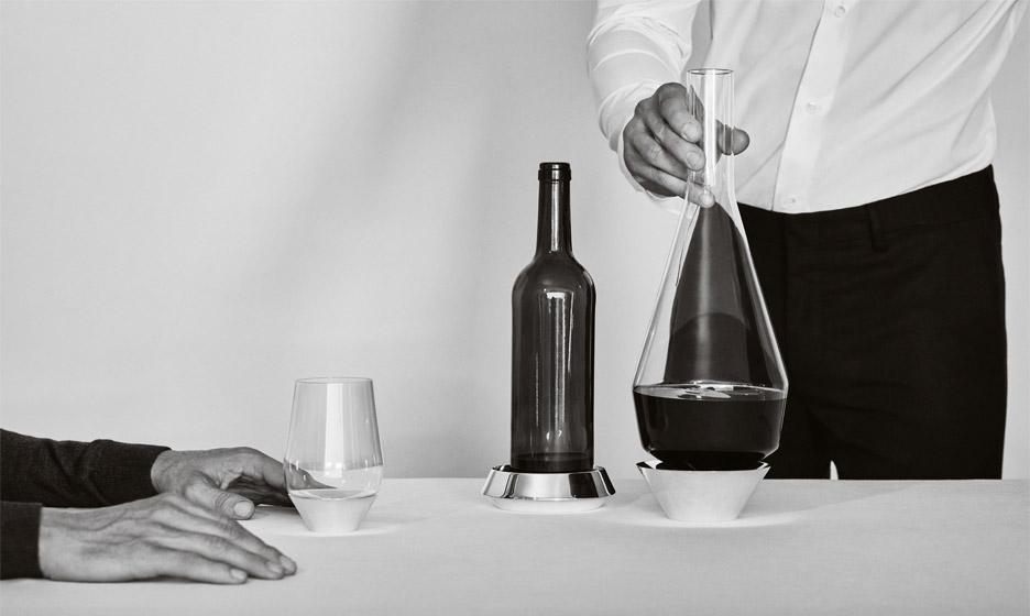 Sommelier Collection by Michael Anastassiades for Puiforcat