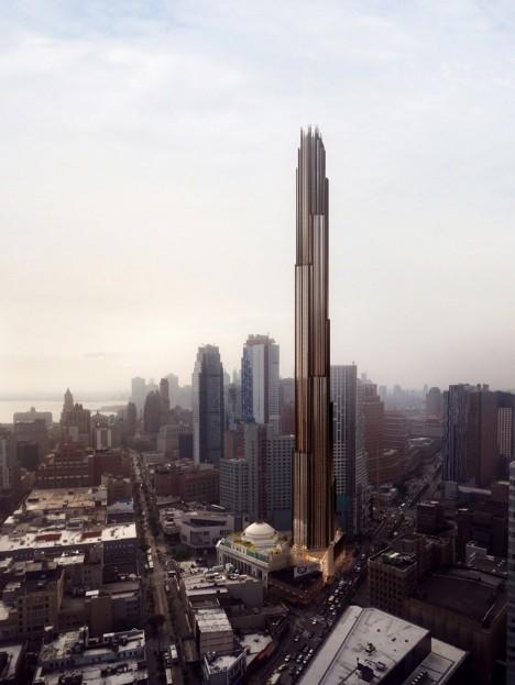 Skyscraper by SHoP at 9 DeKalb Avenue in Downtown Brooklyn