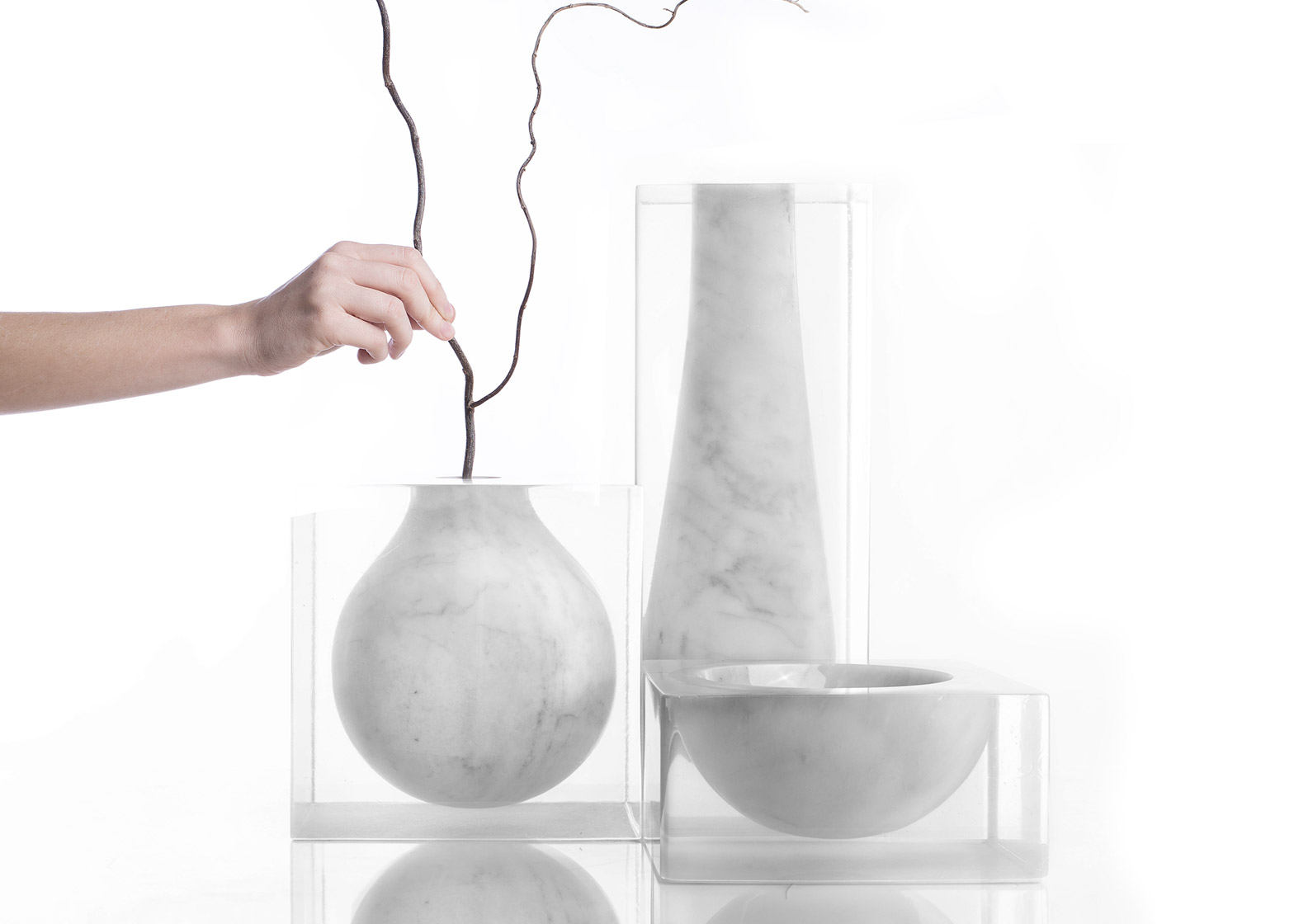 Suspended Collection 2016 by Moreno Ratti for Marmotrilogy